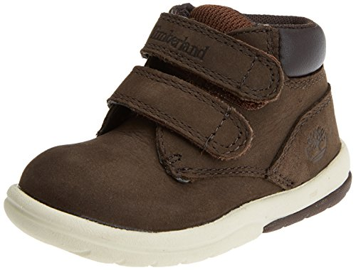 Timberland Unisex Baby Toddle Tracks Hook and Loop Stiefel, Braun (Red Briar Naturebuck D54), 22 EU