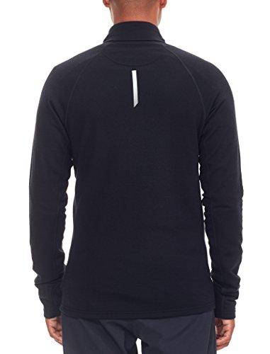 Icebreaker 260 Quantum Zip Jacket Men - Merino Fleecejacke black
