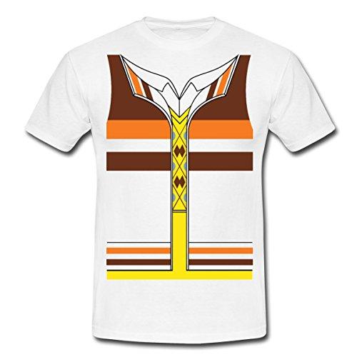 The Big Bang Theory Raj Koothrappali Männer T-Shirt von Spreadshirt®, L, (Koothrappali Kostüm Raj)