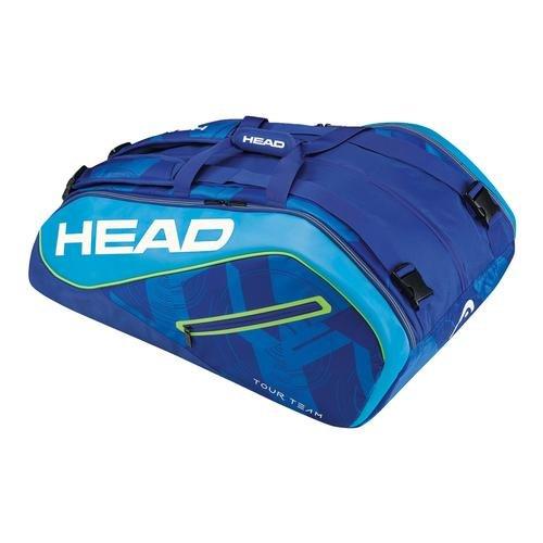 HEAD Tour Team 12r Monstercombi Schlägertasche schwarz/weiß