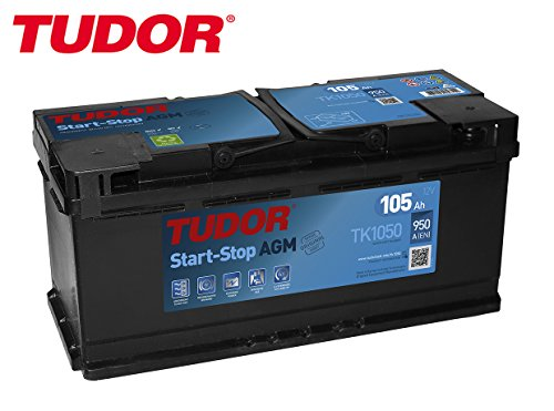 Akku Tudor 105Ah/950A (en) + D Palette AGM Stopp 2Jahre Garantie Auto höchster Qualität Transporter