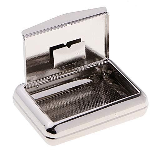 sharprepublic Professionelle Metall Pfeifentabakdose Feuchtigkeits Humidor Pfeifentabak Dose Tabak Feuchtigkeitsbox Tabakfeuchte -