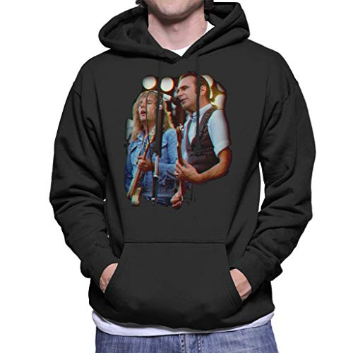 TV Times Rick and Francis of Status Quo Men's Hooded Sweatshirt