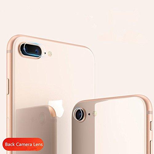 superior ZRL® 7.5H Rücken Kamera Objektiv Tempered Glass Protector Guard Cover für iPhone 8/iPhone8 Plus (Iphone-kamera-objektiv-protector)