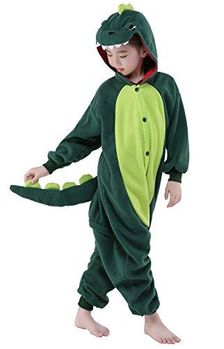 inder Tier kostüme Jumpsuit Erwachsene Schlafanzug Unisex Cosplay Kostüm (Dinosaurier, 105: 115-124cm) ()