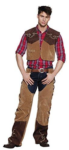enen Kostüm Cowboy Bruce, mens, 54/56 (Cowboy Kostüm Halloween)