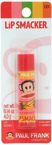 Lip Balm Smacker Lip Paul Frank Julius Fragola Banana 4 g Set di 2