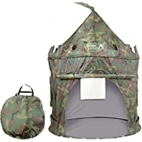 Puregadgets© 2015 British Army Pop Up Childrenu0027s Tent with Windows and Roll Up Door Boys  sc 1 st  Amazon UK : cheap childrens tents - memphite.com