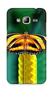 Amez designer printed 3d premium high quality back case cover for Samsung Galaxy J3 (2016 EDITION) (Butterfly)