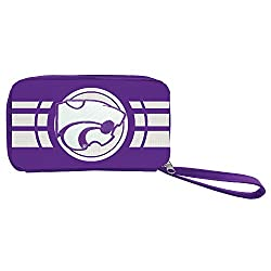 NCAA Kansas State Wildcats Ripple Zip Wallet