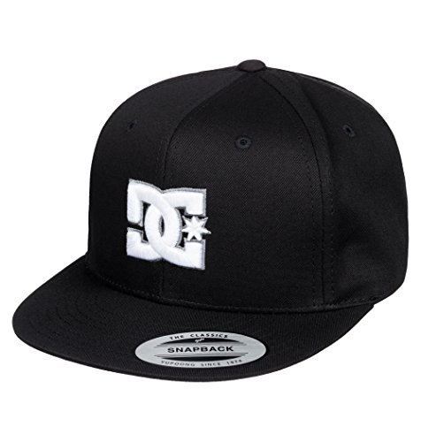 DC Shoes Jungen Cap Snappy Bys B Hat, Black, One size, ADBHA00008-KVJ0