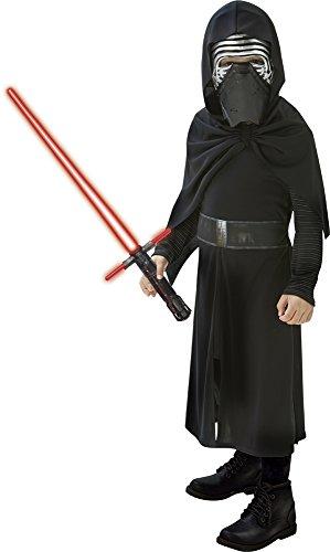 Imagen de star wars  disfraz kylo ren con espada, para niños, 7 8 años rubies 620514 l