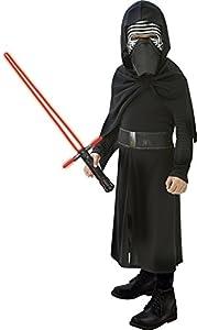 Star Wars Disfraz Kylo Ren con espada, para niños, 5-6 años (Rubies 620514-M)