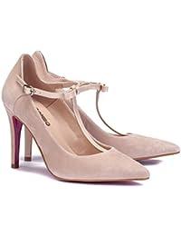 Amazon.es  ante - 2040904031   Zapatos de tacón   Zapatos para mujer ... a5118835d72f