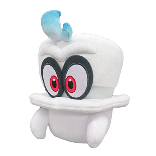 Super Mario Odyssey Cappy Mario Hut Geist Plush -