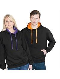 Just Hoods - Varsity Hoodie - 2-farbiger Kapuzenpullover