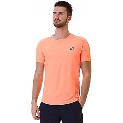 Lotto Medley Tee - Camiseta para hombre, color naranja, talla M