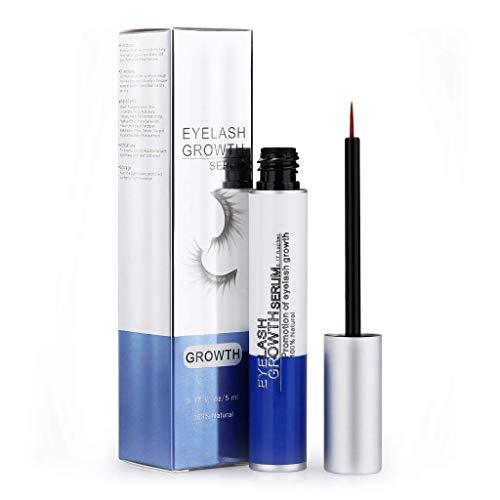 Ovonni Eyelash Growth, Wimpernverstärker Lash Eyebrow Growth Serum für längere und dickere Wimpern, 100% natürliche, vollere und...