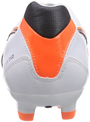 Puma Momentta II FG Herren Fußballschuhe Weiß (white-black-fluo flash orange 02)