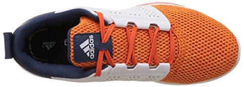 adidas Madoru 2 M, Chaussures de Running Compétition Homme, Orange, Blanc Orange / bleu / blanc (super orange / bleu minéral / blanc Footwear)