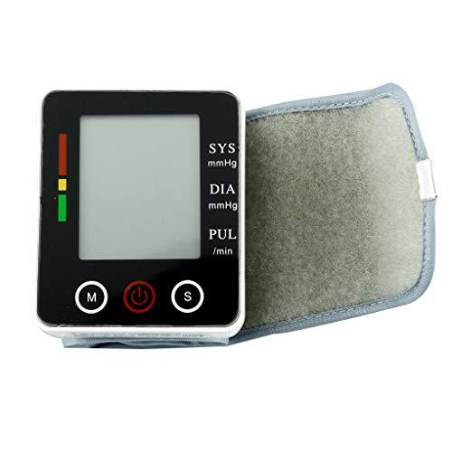 Hotaluyt 20-280mmHg Bereich Handgelenk-Blutdruck-Monitor LCD-Digital-Display Touch-Sphygmomanometer elektronisches Blutdruckmessgerät für den Heimgebrauch