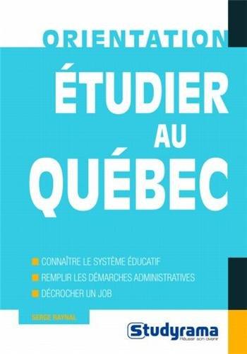 Etudier au Québec