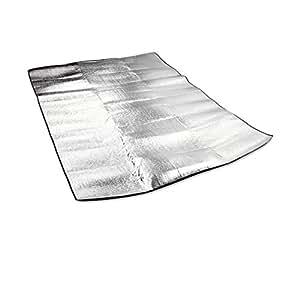 JOY-UK Outdoor Tent Aluminum Moisture-proof Pad Aluminum Foil Cushion For Camping Hiking Fishing Picnic mat (200*150 cm)