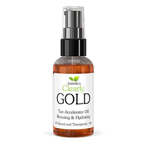GOLD - Mejor Aceite Acelerador Bronceado Natural