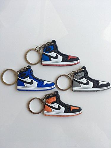 ker Schlüsselanhänger Pack Top 3Game Royal Baron Shattered Rückwand Schuhe Schlüsselanhänger AJ 23OG ()