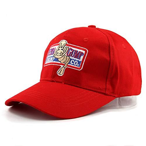 MAOZIJIE Baseballmütze Männer Frauen Sport Hüte Sommermütze Bestickte Lässige Hut Forrest Gump Kappen Kostüm