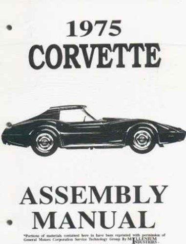 corvette vette gm chevy chevrolet le meilleur prix dans amazon rh savemoney es Ship Assembly Instruction Manuals Mack Assembly Manual