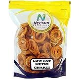 Neelam Foodland Low Fat Methi Chakli, 400g