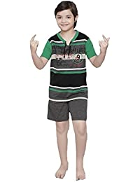 1d68a35e3f3a Summer Night Suit for Kids   Girls - Night wear - Track Suits - Shorts    Tshirt Night Wear Combo Set -Sinker Material …