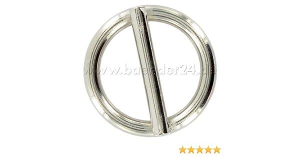 Edelstahl 8mm Ring mit Steg 50mm