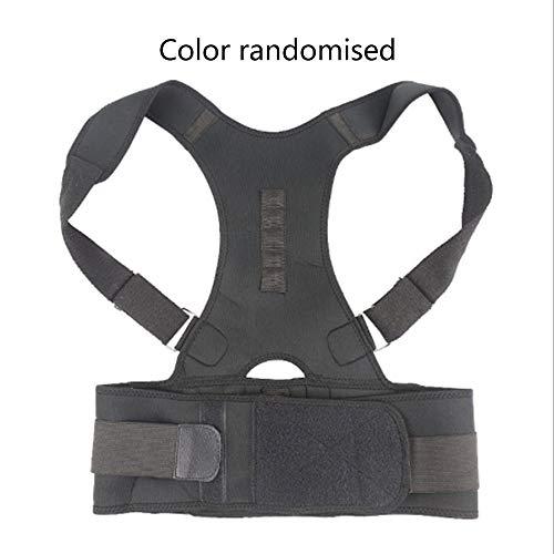 336fd5d5b9f39 CHOULI Adults Back Correction Belt Posture Correcting Band Shaping The Back  Black L