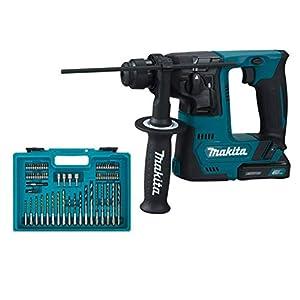 Makita HR140DSYE1 – Martillo perforador con batería, color azul