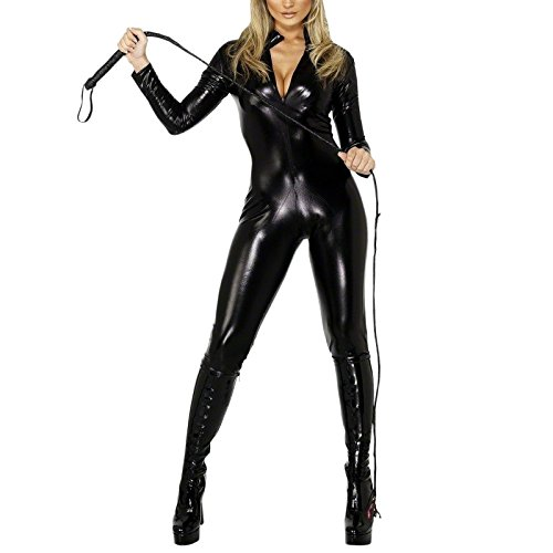 Domina Overall Damen - S (Halloween Domina)