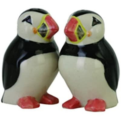 Quail Ceramics - Puffin Salt And Pepper Pots by Quail Ceramics