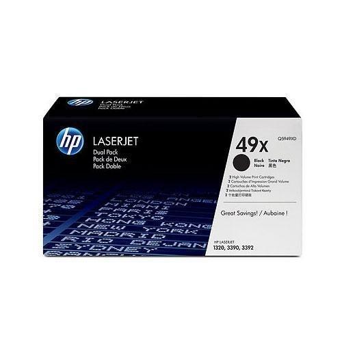 Zwei Laserjet (HP LaserJet Druckkassette /Q5949XD schwarz Inh.2)