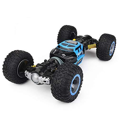 Ferngesteuertes RC Auto Spielzeug Auto Gblife 2,4 GHz 360° Drehung RC Racing Buggy Spiegeln Doppelseitiges Fahren High Speed Stunt Autos Spielzeug Geschenke für Kinder ab 8 Jahre Alt,Blue