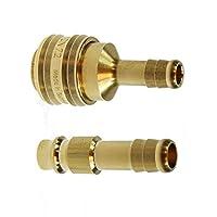 Druckluft Set - Druckluftdose + Druckluftstecker NW 7,2 Messing - Größe 13mm
