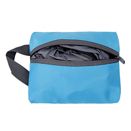FeelinGirl Nylon Reisegepäck Robuste Aufbewahrungstasche Gepäcktaschen Set Wäsche Organizer Tasche Lila Blau