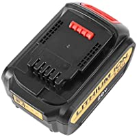 Ironheel Batería, batería Recargable de Reserva de batería de Reserva de batería de ión de Litio de 20V 5.0A para la Herramienta eléctrica de Dewalt