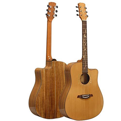 Neue 41-Zoll-Kiefernfurnier-High-End-Gitarren-männliche und weibliche Studenten-Gitarren-Akustikgitarre