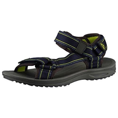 Homens Mckinley Caminhadas Caminhadas Sandálias Lazer Ao Ar Livre Maui Preto 262118 Azul / Preto