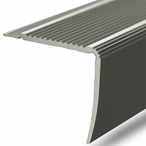 Alu Stufenkantenprofil Integral   L Form   selbstklebendes Treppen Profil   Breite 30 mm   eloxiert Champagner   90 cm