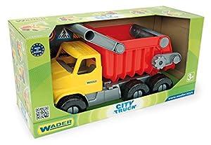 Unbekannt Wader 32605 - Camión de Juguete para Ciudad con Mango y volquete bloqueable (a Partir de 3 años, Aprox. 50 cm.