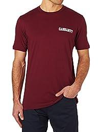 Carhartt Ch S/S College Script Lt, T Shirt sans Manche Homme