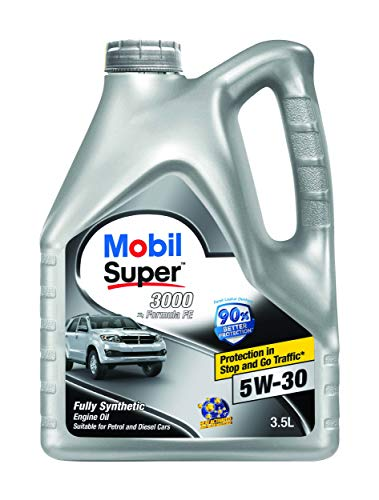 Mobil Super 3000 X1 Formula FE 5W-30 Fully Synthetic Petrol/Diesel Engine Oil (3.5 L)