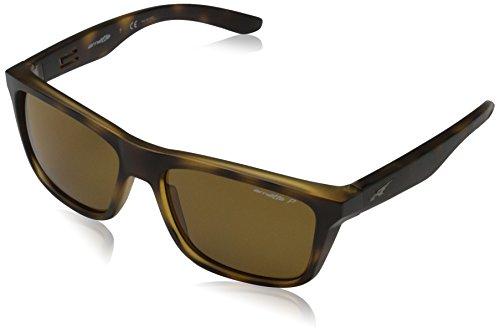 Arnette 0an4217 219783 57, occhiali da sole uomo, marrone (matte havana/polarbrown)